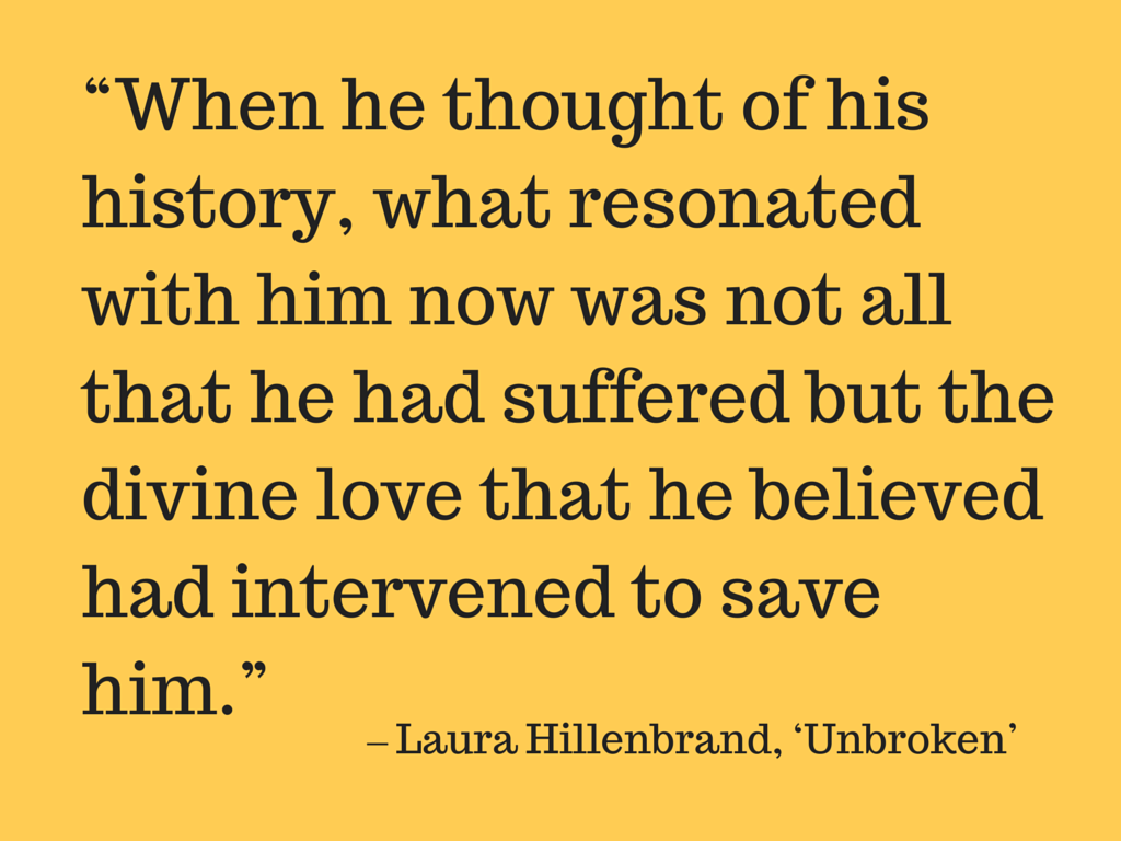 ìunbrokenî by laura hillenbrand essay Unbroken – laura hillenbrand – part 4 when louie and phil finally found land, they were captured by a japanese boat and taken to what island kwajalein in the marshall islands.