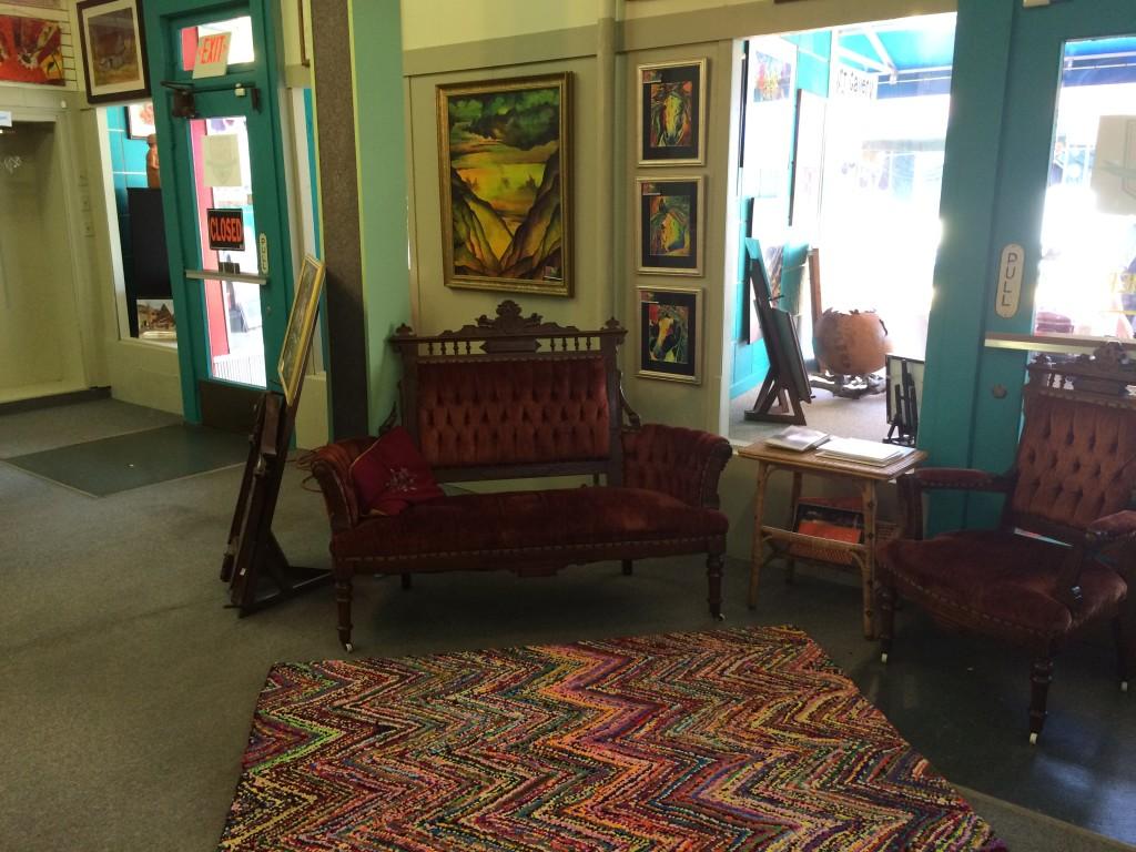 Gallery 246 interior