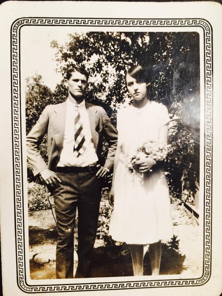 PapaNannyWedding1927